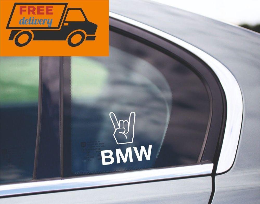 BMW E38 is in my Blood window sticker decals graphic
