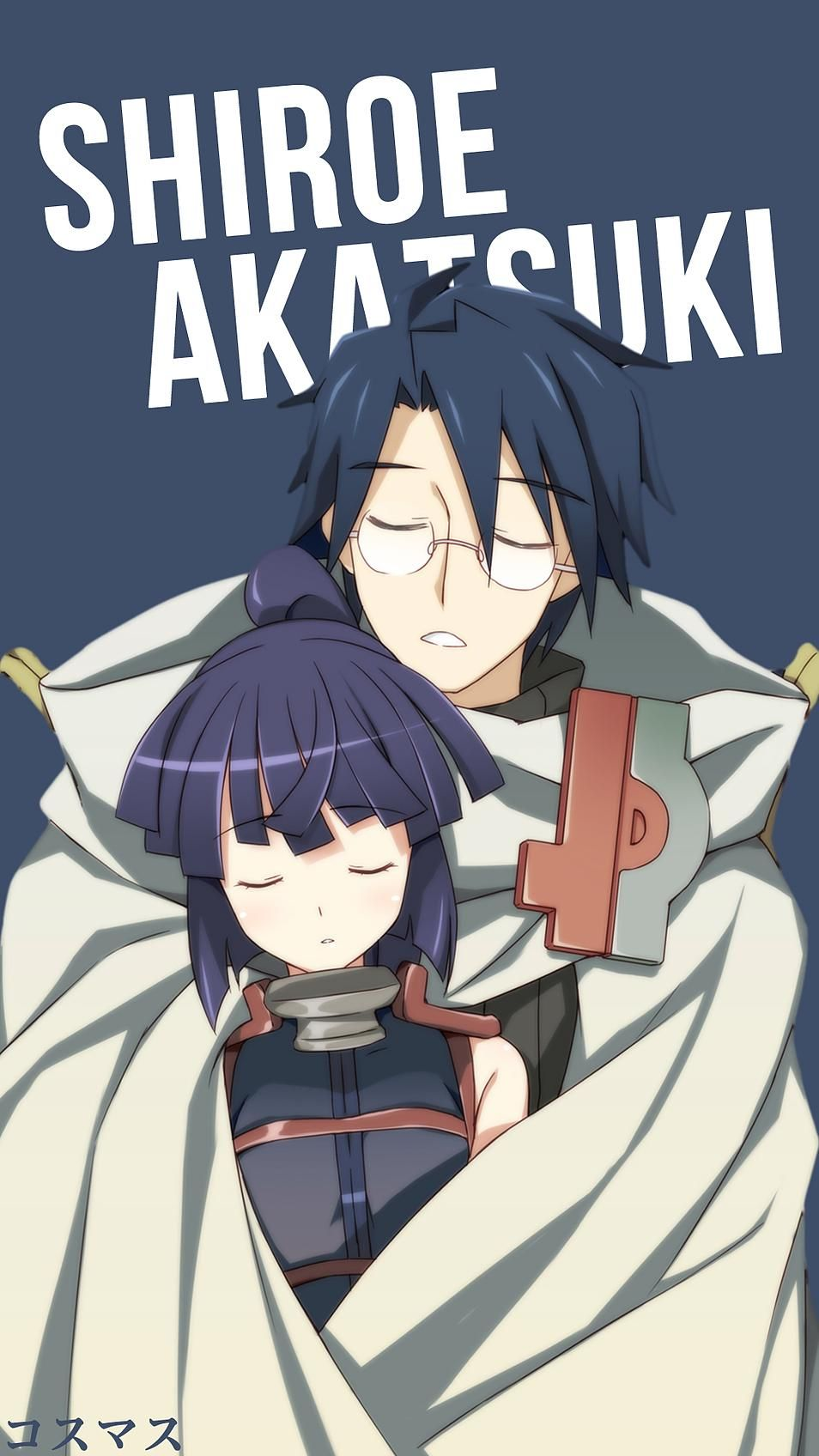 Shiroe x Akatsuki Korigengi Wallpaper Anime Anime