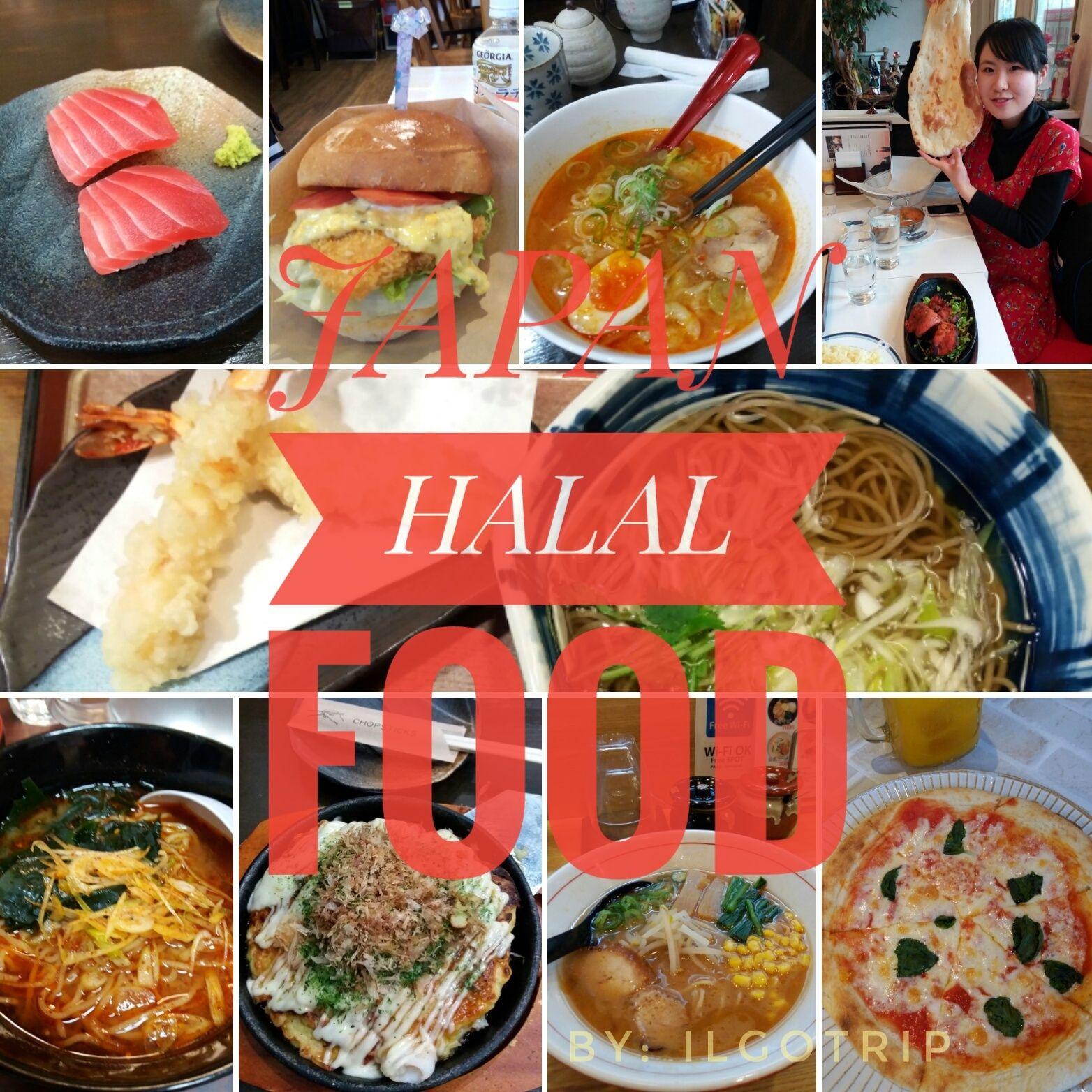 Japan Halal Food Tempat Makan Halal Di Jepang Jepang Makanan Jepang Makanan