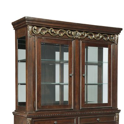 Charmant Charlton Home Portland China Cabinet Top