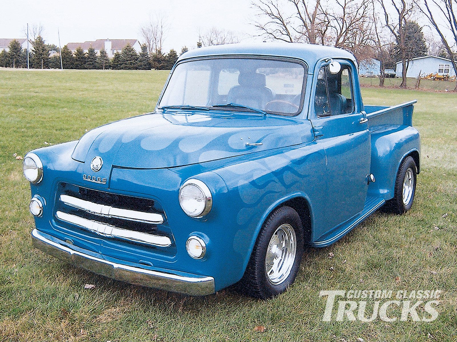 Check Out This 1954 Dodge Pickup Submitted By One Of Our Readers Here At Www Customclassictrucks Com The Off Dodge Pickup Custom Trucks Classic Trucks Magazine