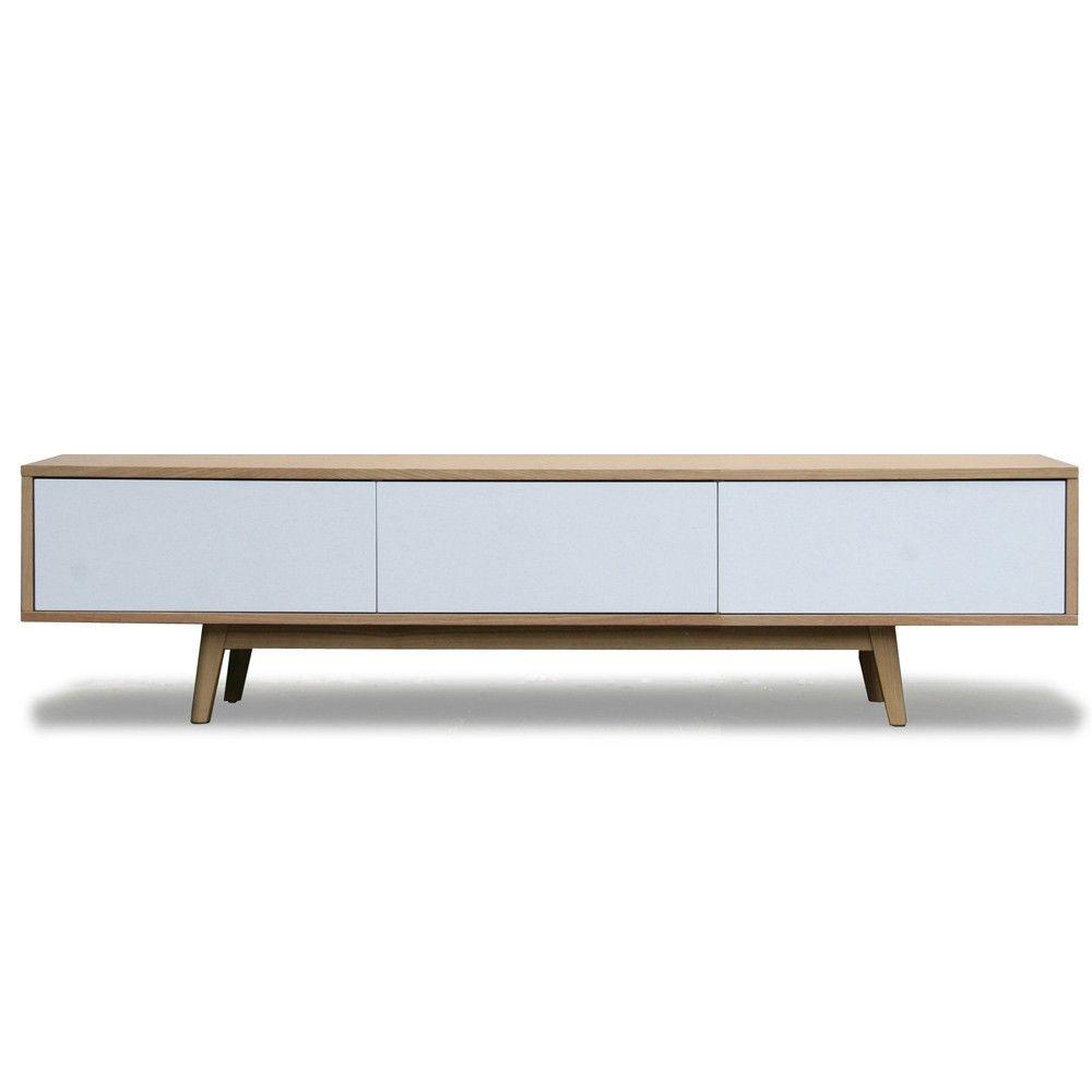 Vintage tv dressoir wit eiken   Design meubelen en de laatste woontrends   Wohnen   Pinterest