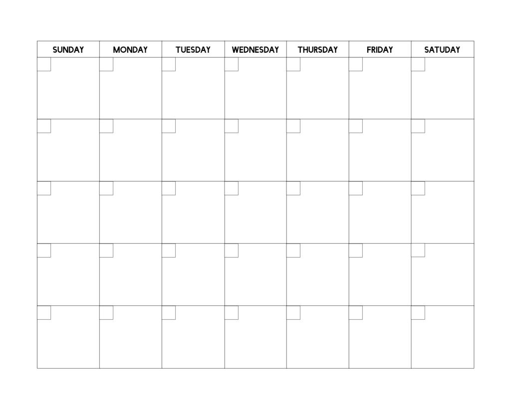 Free Printable Blank Calendar Template Paper Trail Design Blank Monthly Calendar Template Blank Calendar Pages Free Printable Calendar Templates