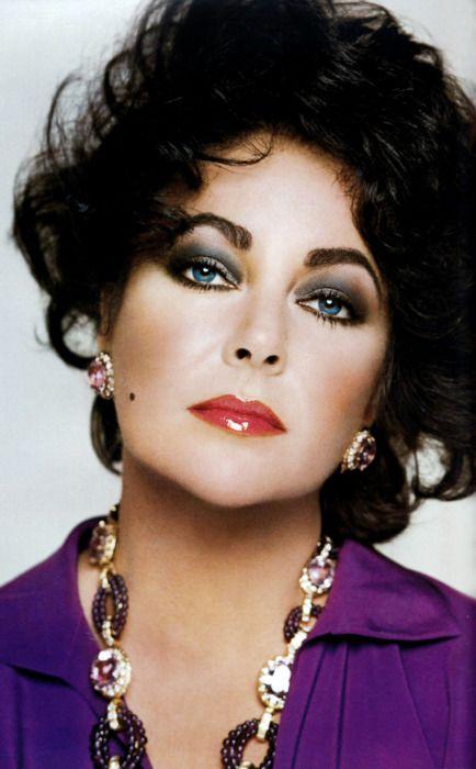 Liz By Scavullo Elizabeth Taylor Elizabeth Taylor Jewelry Violet Eyes