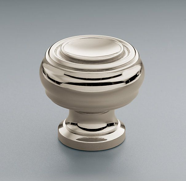 Possible knob, but in dark finish | Kitchen | Pinterest