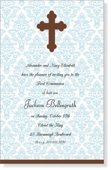 First Holy Communion Invitations Communion Invitation Cards