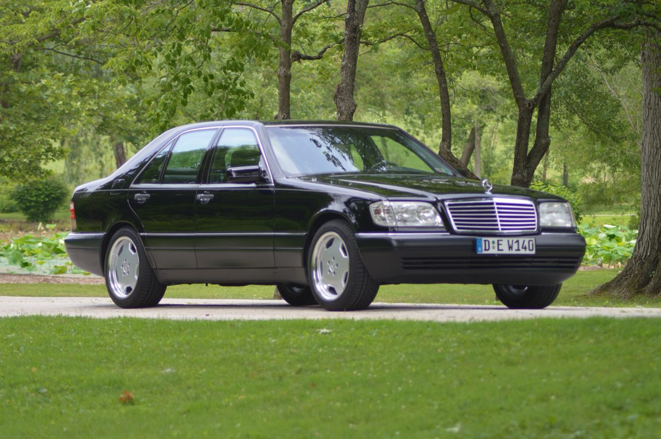 Finished My Mercedes Benz W140 S500 Project For Sale 8 399