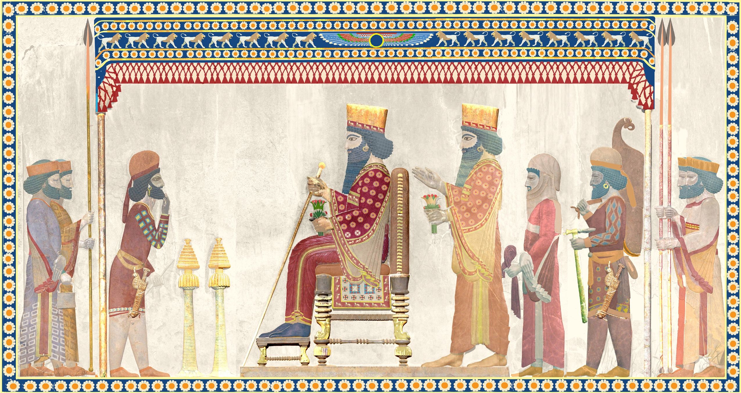 10 Things You Should Know About The Achaemenid Persian Empire: The Royal Court In Achaemenid Persia: A Few Thoughts