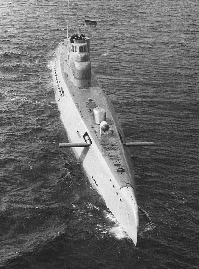 German Uboat typeXXI End of the war boat, best design in WW2