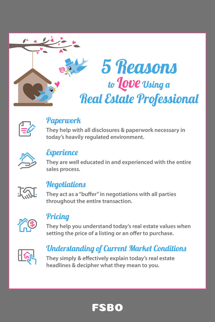 5 Reasons To Love Using A Real Estate Pro Infographic Real