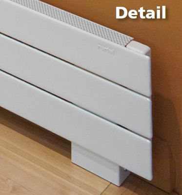 How To Install A Toe Kick Heater Baseboard Heating Heat Installation Installation