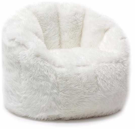 Furry Bean Bag Chair Ebay Faux Fur Oversized