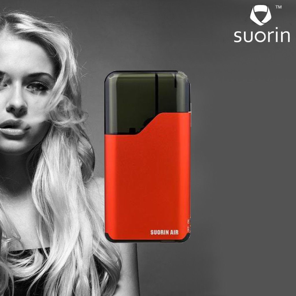 Electronic Vape E Pen Cigarette Suorin Air Red Vapor All In One Catridge Authentic Device For