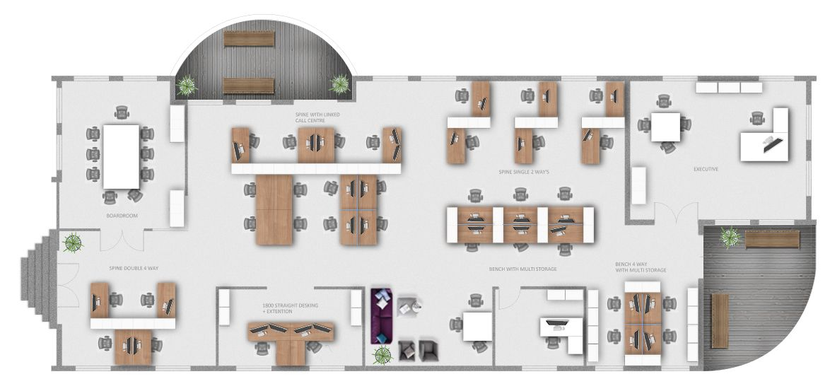 open office space layout - Google Search   Office Project Djibami ...