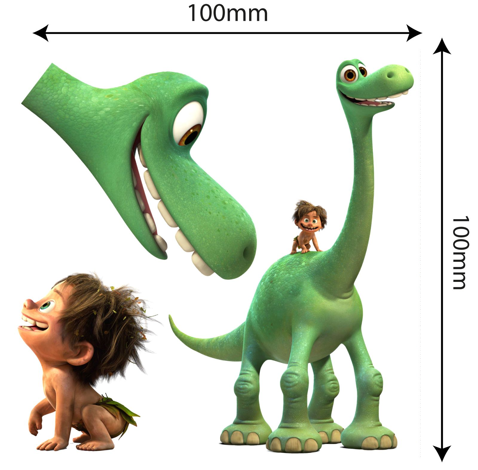 The Good Dinosaur MOVABLE and Reusable Toy box - Wall Stickers | Toy ...