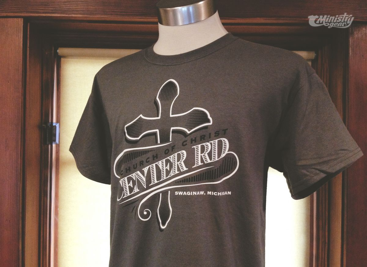 Edgy church t-shirt design by http://www.ministrygear.com ...