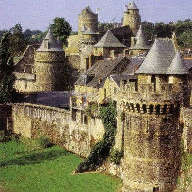 Fougères, Bretagne - the biggest medieval castle in Europe ...