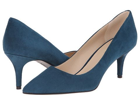 2ea907165 Nine West Margot Blue Green Suede 1 - Zappos.com Free Shipping BOTH Ways