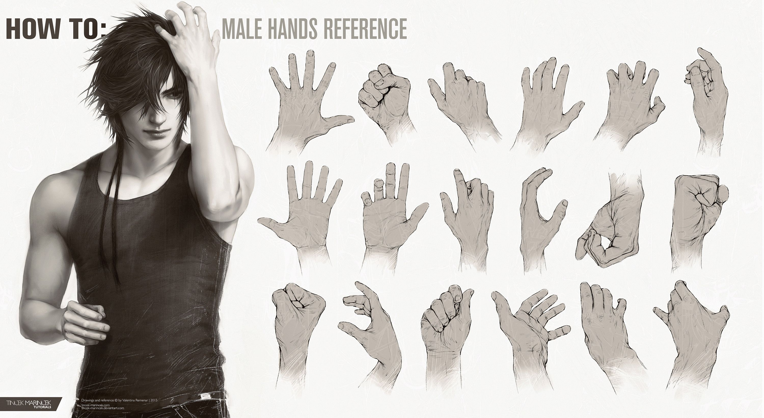 How To Male Hands Reference Hand Reference Male Hands Male Torso