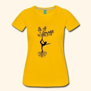 Yoga Schneidersitz Meditation bunt Geschenkidee | Männer Premium T-Shirt