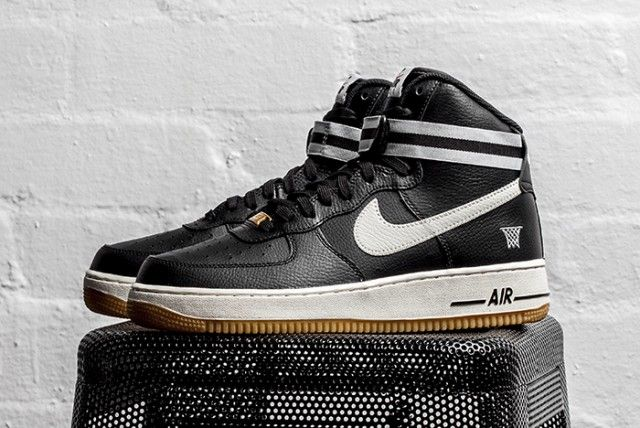 newest 72e69 5cb4a NIKE AIR FORCE 1 HIGH '07 (WOLF GREY/GUM) | Shoes | New nike ...