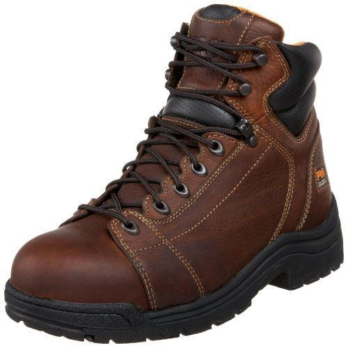 Timberland Pro Men S Titan 6 Lace To Toe Safety Toe Boot Safety Toe Boots Timberland Pro Boots Safety Boots