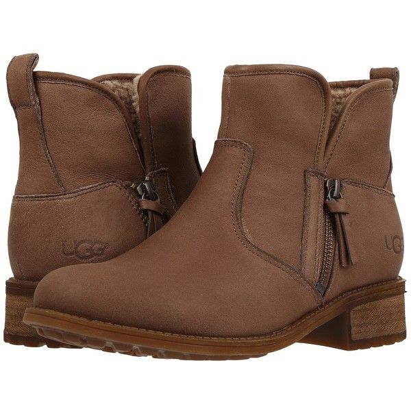 UGG LaVelle (Camel) Women's Boots (£140) ❤ liked on Polyvore featuring