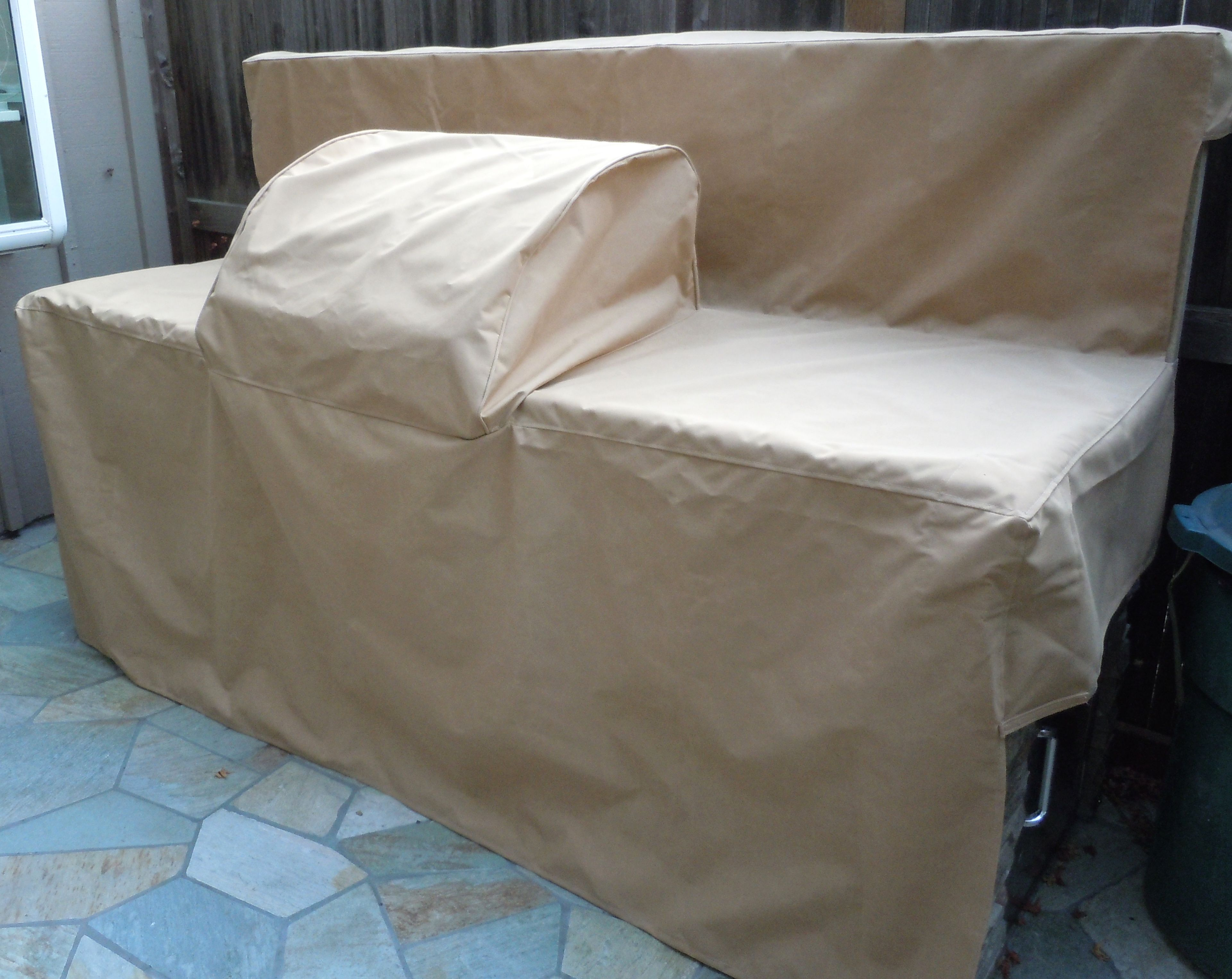 Custom Outdoor Island Covers For Barbeques Kitchen Islands Sunbrella Or