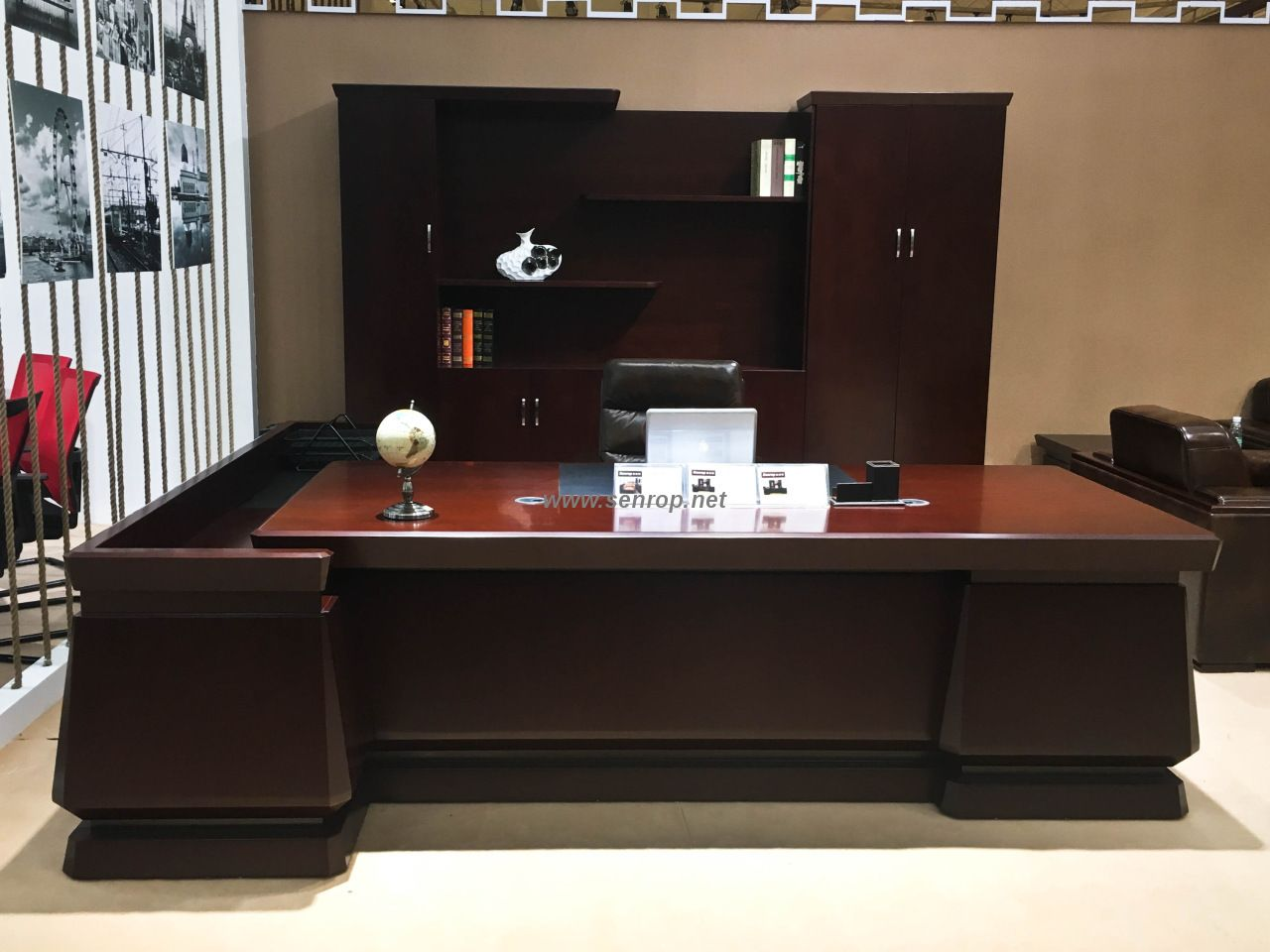K 2874a China Boss Desk Director Office Table Office Furniture
