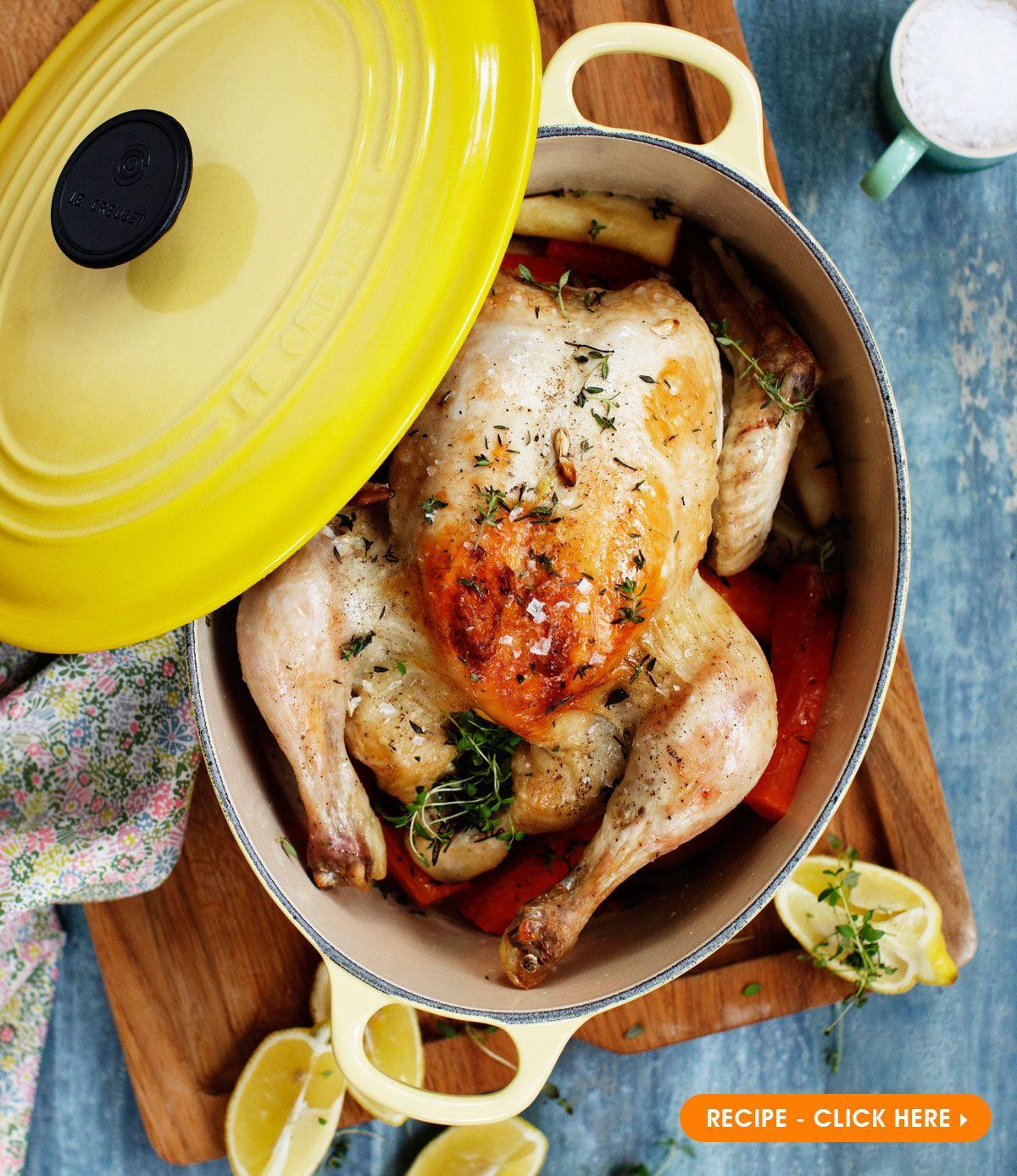 Our 5 Favourite Chicken Recipes Le Creuset Le Creuset Dutch Oven Recipes Le Crueset Recipes