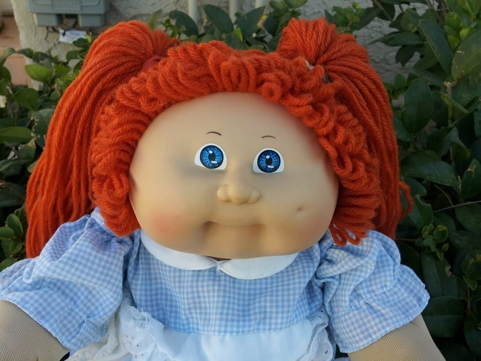 Cpkredhead2face Jpg 960 720 Cabbage Patch Kids Cabbage Patch Dolls Girls With Red Hair