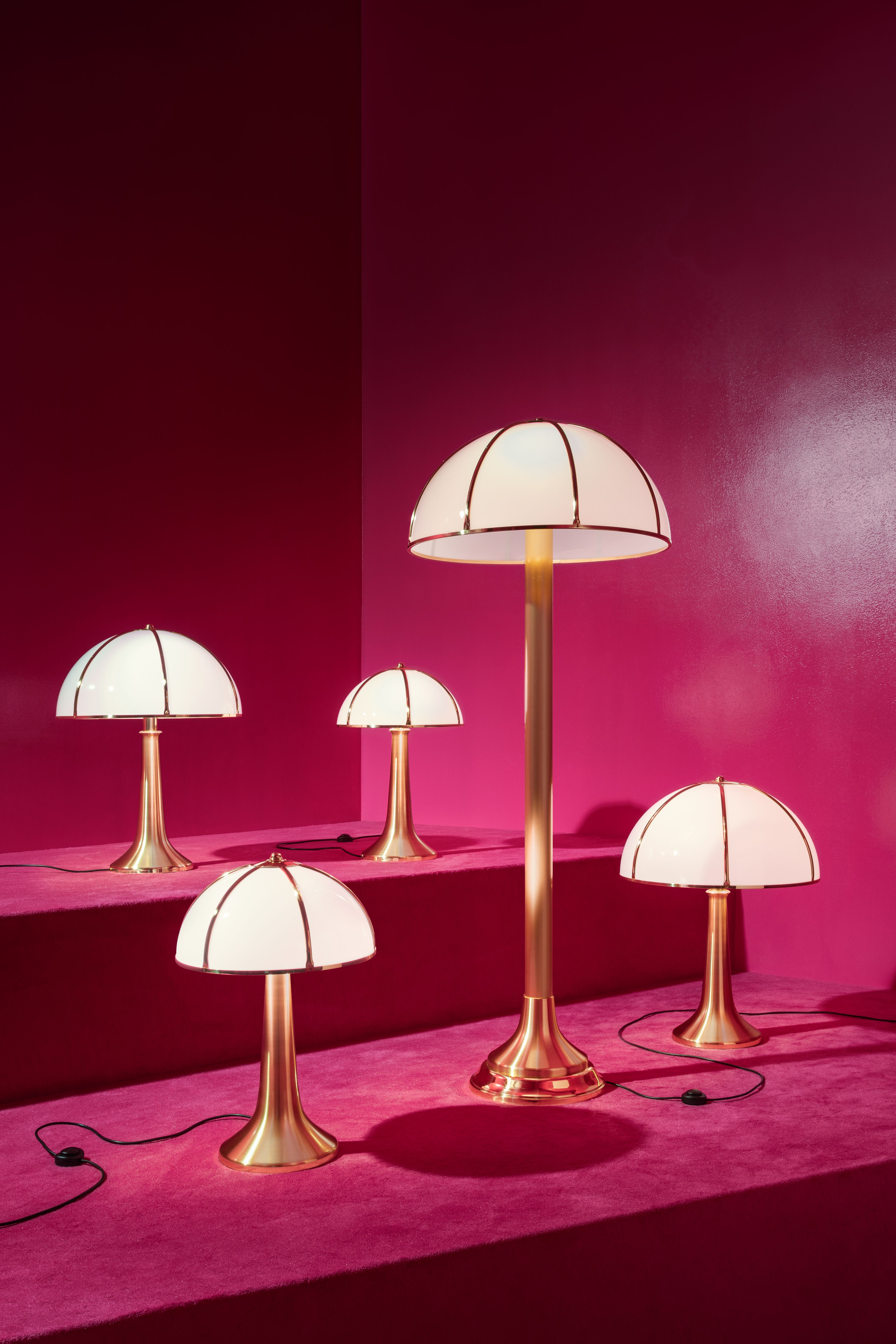 Lotus Table Lamp in Pink by Mason