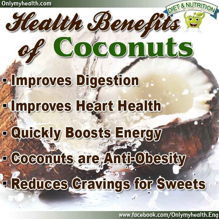 Health Benefits of Coconuts.