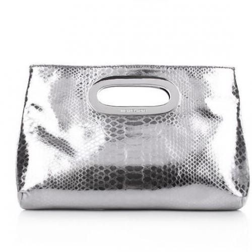 berkley clutch silver von michael michael kors bag. Black Bedroom Furniture Sets. Home Design Ideas