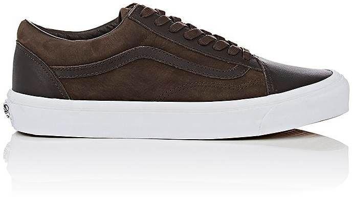 5b1717c752 Vans Men s BNY Sole Series  OG Old Skool Nubuck   Leather Sneakers ...