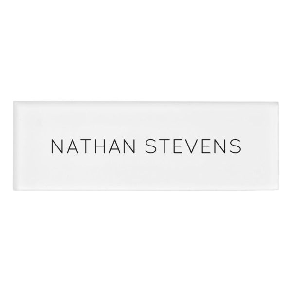 Personalized custom color diy do it yourself name tag solutioingenieria Image collections