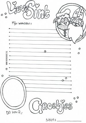 Sinterklaas lijstje + gratis printable - Mama Maai