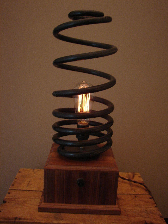 Table Lamp | Lamp, Steampunk lighting, Diy lighting