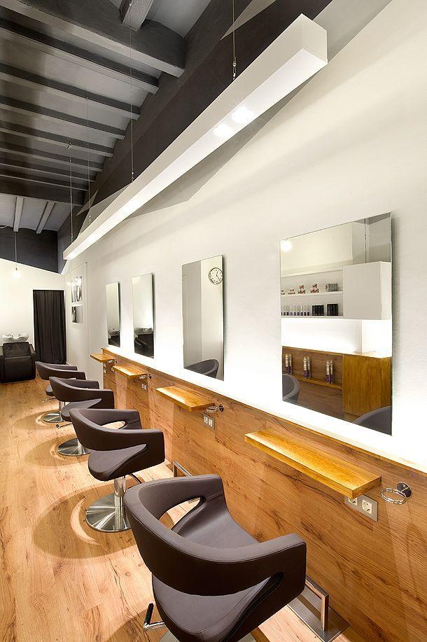 Resultado de imagen para muebles para estudio de maquillaje salones de peluqueria pinterest - Diseno peluqueria ...