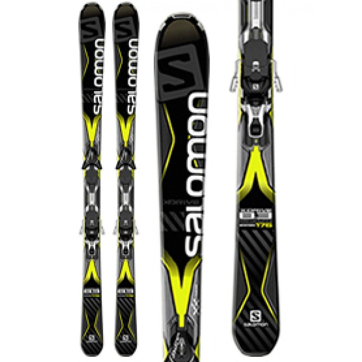 Salomon X Drive 8 3 Skis With Mxt12 Binding 15 16 Golf Ski Warehouse Skiing Salomon Mens Skis