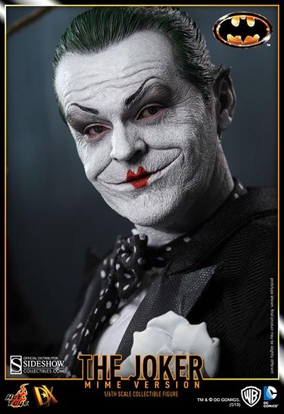 The Joker (1989 Mime Version) Sixth Scale Figure - Hot Toys - SideshowCollectibles.com