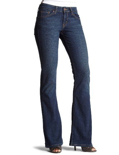 a71ac2f73 Levi`s 518 Juniors` Superlow Boot Cut Jean  28.79