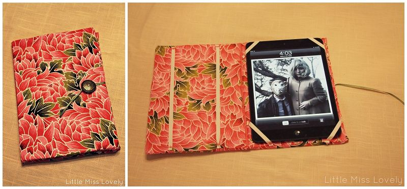 DIY: Create an iPad Case for $5 in 1 hour