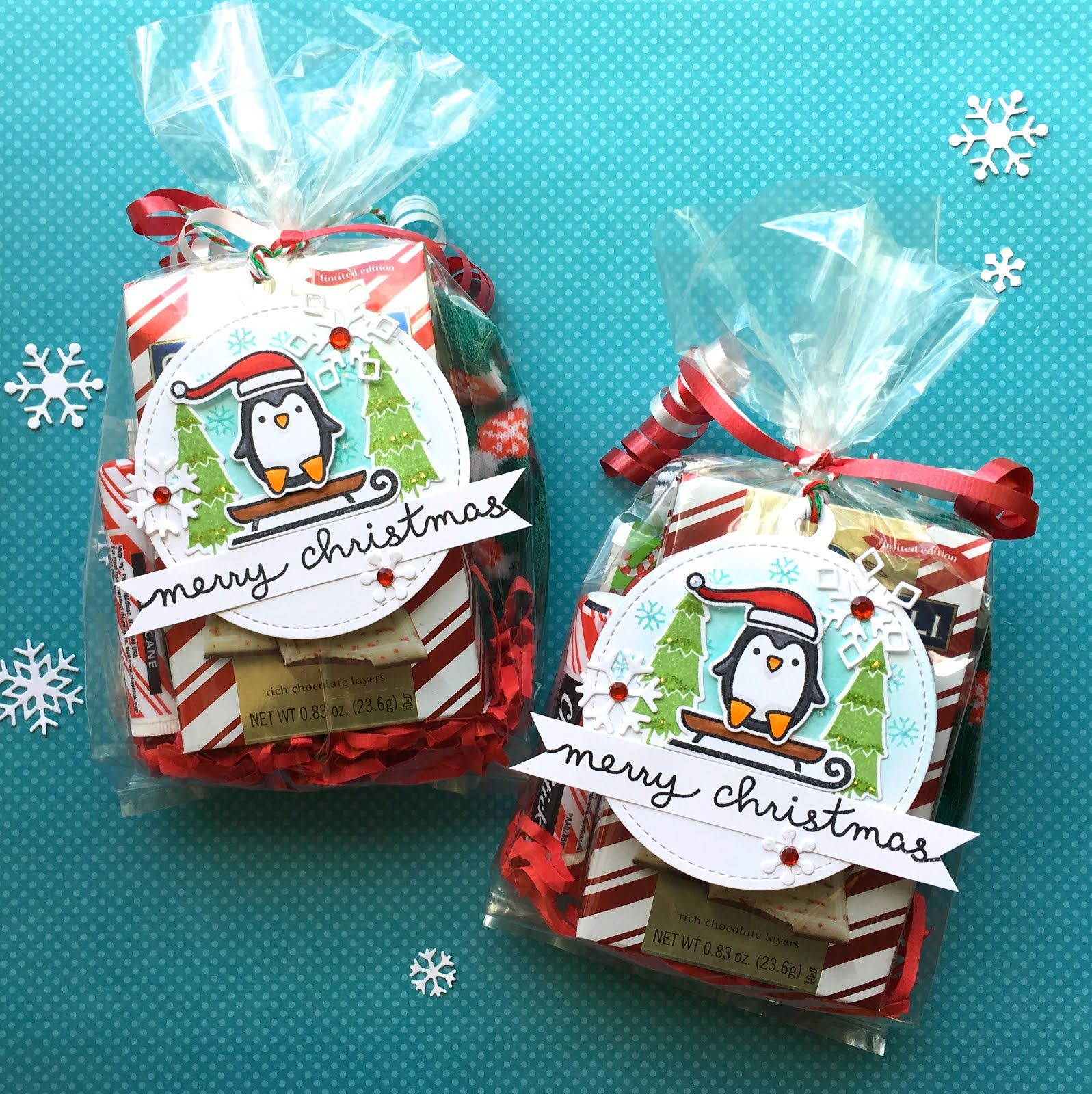 Today Im Sharing Some Christmas Tags That I Created Using