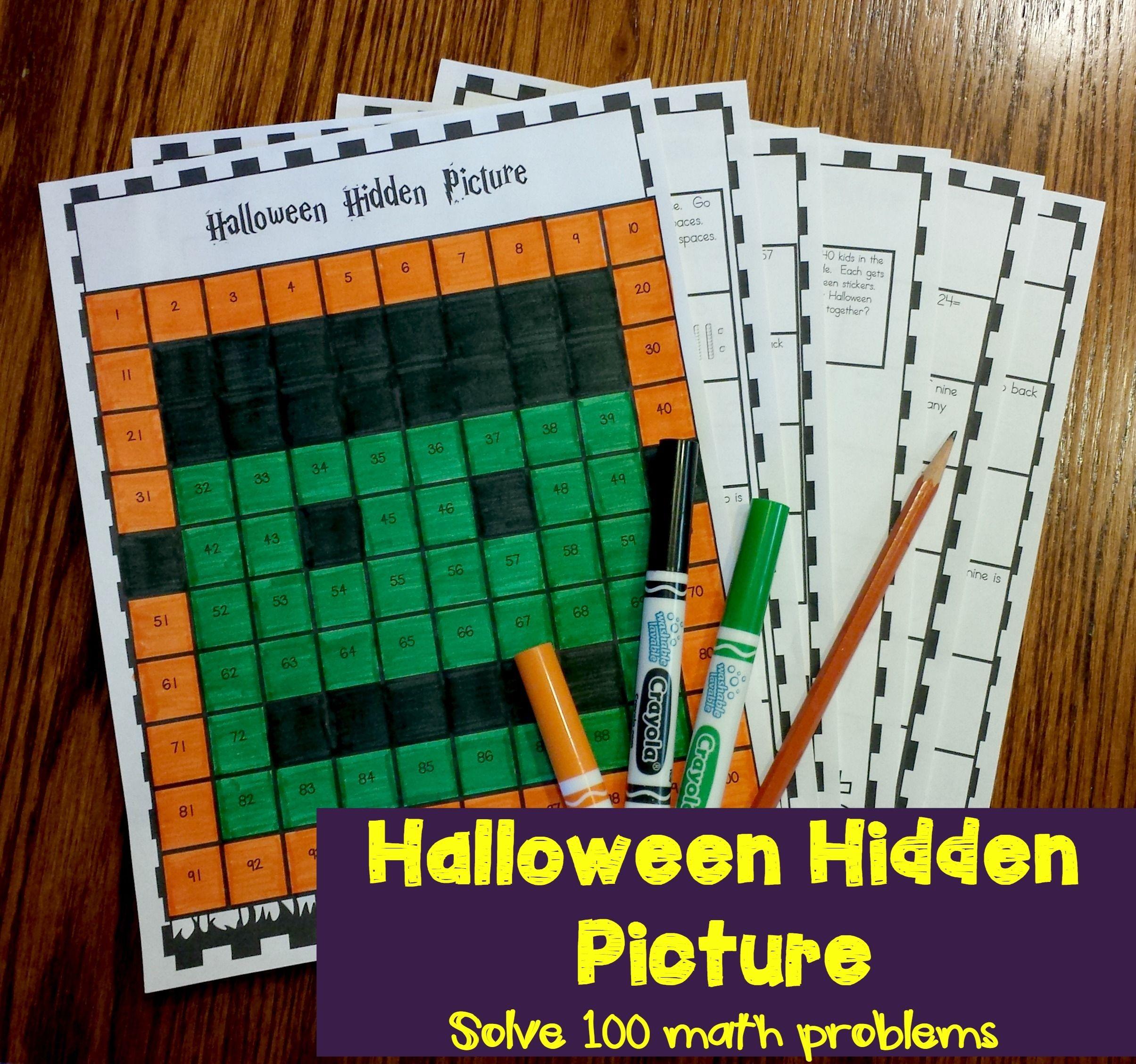 Hundred Chart Hidden Picture Mega Bundle