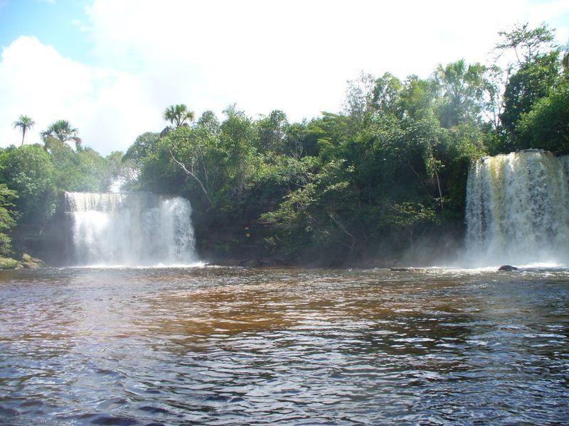 Cachoeiras Gemeas Do Itapecuru Carolina Maranhao Brasil