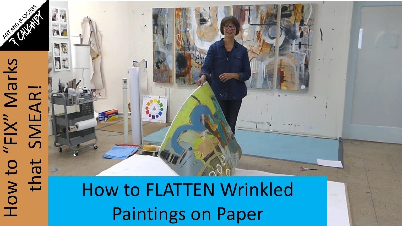 079 Pamela Caughey How To Flatten Wrinkled Warped Works On