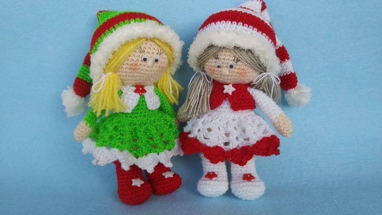 Christmas Gnome – Amigurumi Crochet Pattern | | Crochet xmas ... | 720x1280