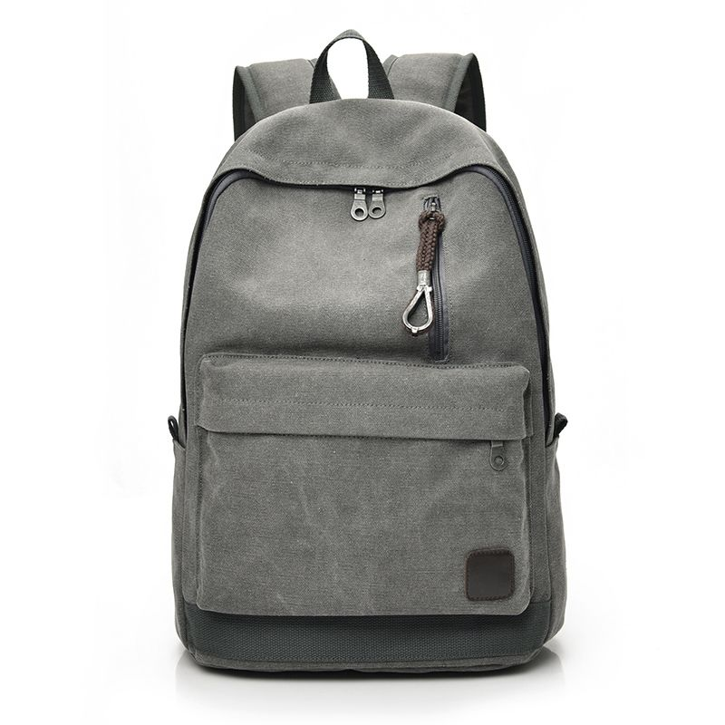 81dff61ada Unsex Canvas Backpacks Large School Bags For Teenager Boys and Girls Travel  Laptop Backbag