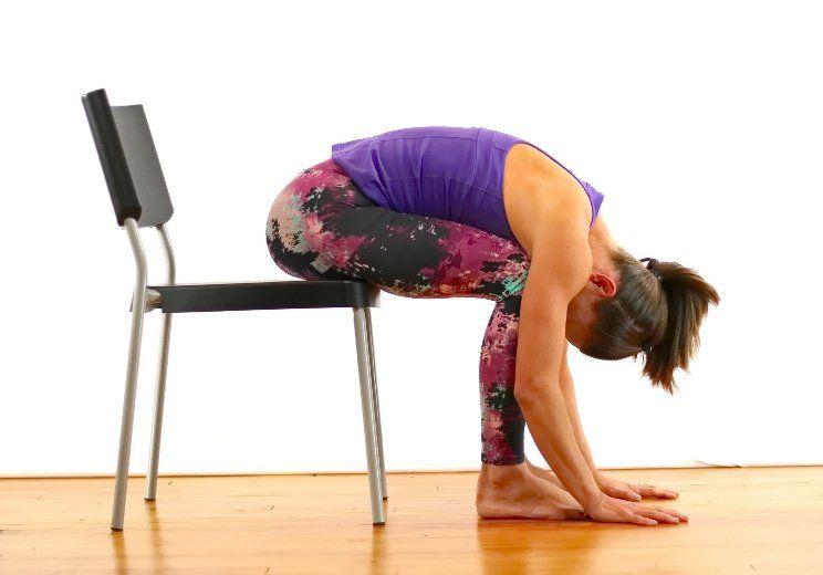 Chair Yoga Back Pain